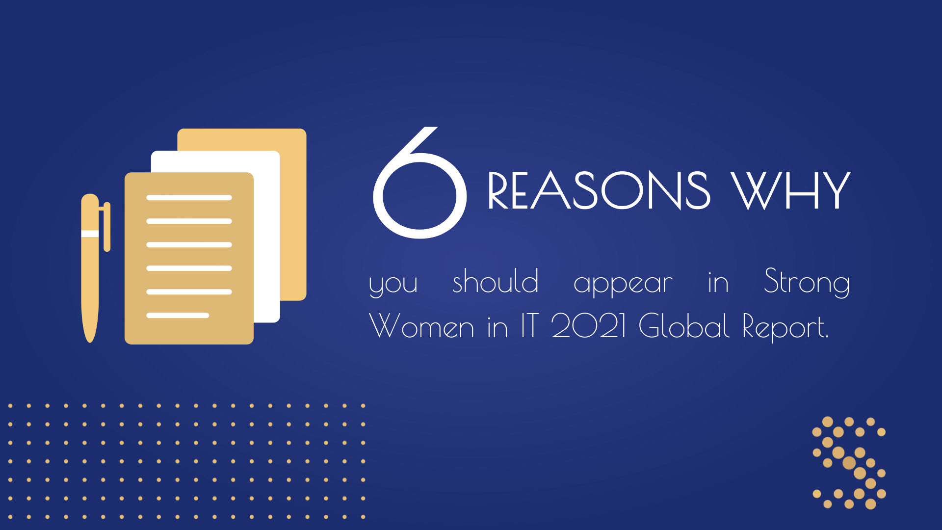 Strong Women in IT 2021 Global Report
